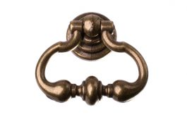 "Drop Pendant Handle ""Clásico 7958"" Antique Bronze"