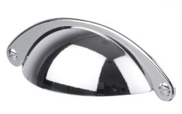 """Cup Pull """"Casa"""" Polished Chrome"""