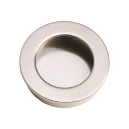 "Inset Handle ""Inlay Round"" Stainless Steel Effect"
