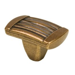 "Cabinet Knob ""Style"" Antique Bronze"