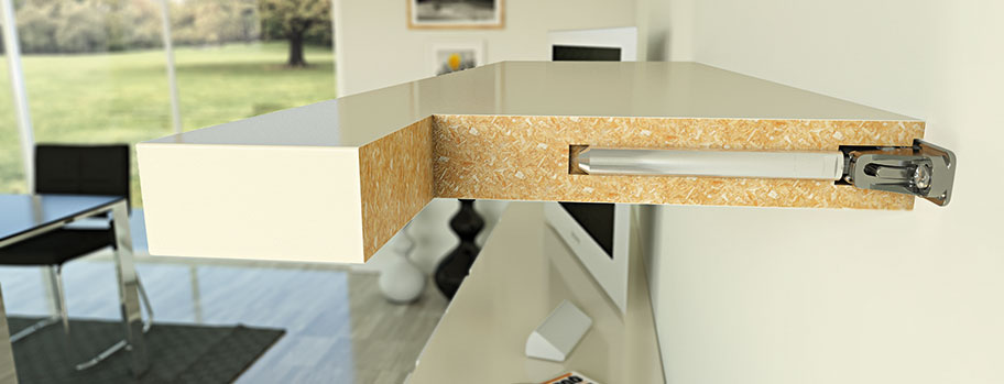 Triade Concealed Shelf Mounting Bracket
