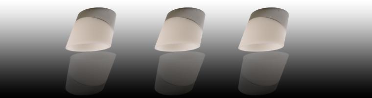Rombo Halogen spotlight for surface mounting